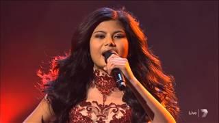 getlinkyoutube.com-The X Factor Live 7 - Song 1 - Girl on Fire - Marlisa Punzalan