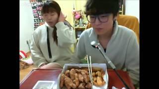 getlinkyoutube.com-왕쥬 주녀바 교촌치킨먹방 1편