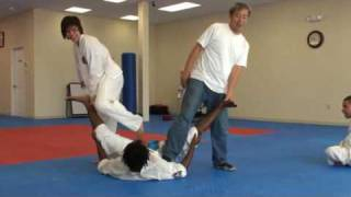Extreme Martial Arts splits session