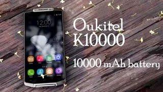 getlinkyoutube.com-Oukitel K10000 самый живучий смартфон в мире! Металлический монстр с батареей на 10000mAh!