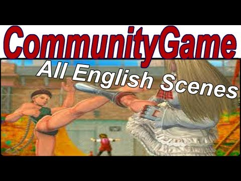 Street Fighter X Tekken - Rival Cutscenes English 'All Rivals Cutscenes English' [1080p HD]