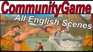 getlinkyoutube.com-Street Fighter X Tekken - Rival Cutscenes English 'All Rivals Cutscenes English' [1080p HD]