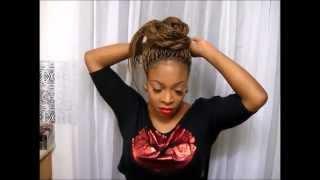 getlinkyoutube.com-28. | 10 Ways To Style Your Senegalese Twists/Braids Updos Casual & Elegant Gweni*Lavay