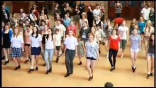 St Patricks Day 2011 - Riverdance Flashmob (Central Station, Sydney, Australia)