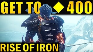 getlinkyoutube.com-Destiny: How to Get to 400 Light! | Best Ways to Increase Light Level Fast! | Rise of Iron