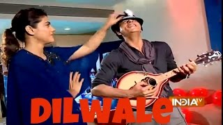 getlinkyoutube.com-Dilwale: Shah Rukh Khan and Kajol Exclusive Interview