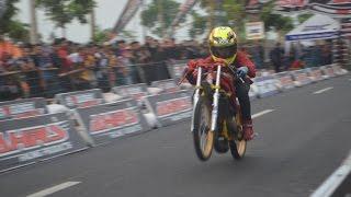 getlinkyoutube.com-cebonk vs bochel sport tu 155cc CST Kejunas Dragbike seri 6 Kenjeran