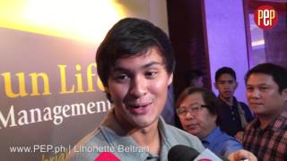 Matteo Guidicelli on making his future wife comfortable