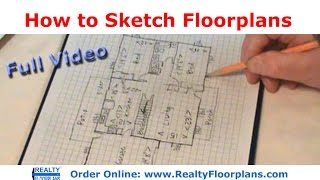 getlinkyoutube.com-Realty Floorplans: How to Rough Sketch a Floor Plan (Full Version)