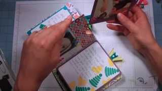 getlinkyoutube.com-Scrappy Wednesday: 6 X 6 Quick and Easy Mini Album Stampin' Up!
