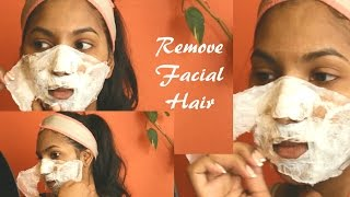 getlinkyoutube.com-How To Remove FACIAL HAIR and BLACKHEADS Naturally at Home!
