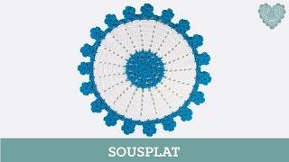 getlinkyoutube.com-Criações em Crochê: Sousplat | Luciana Ponzo