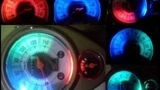 getlinkyoutube.com-Cara Membuat Lampu LED  Spidometer Motor mobil