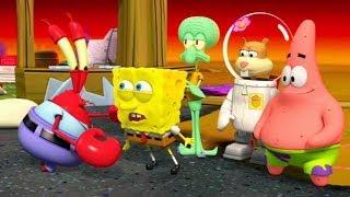 SpongeBob SquarePants: Plankton's Robotic Revenge - O Início - Bob Esponja Calça Quadrada gameplay