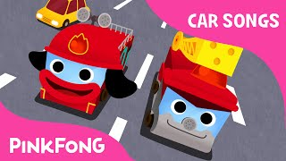 getlinkyoutube.com-Hurry Hurry Drive the Fire Truck | Car Songs | PINKFONG Songs for Children