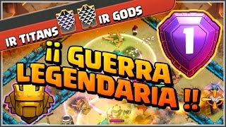getlinkyoutube.com-IR TITANS VS IR GODS - GUERRA LEGENDARIA - ALL STARS - Clash of Clans - Español - CoC