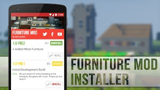 getlinkyoutube.com-How to Install Furniture Mod for MCPE 0.13.0!