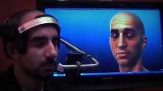Markerless Facial Motion Capture Demo