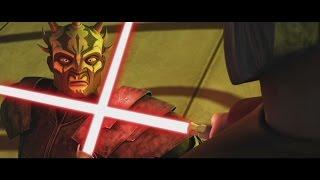 getlinkyoutube.com-Star Wars: The Clone Wars - Count Dooku trains Savage Opress [1080p]