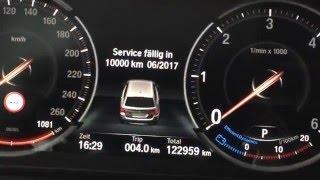 BMW Multifunktionales Instrumentendisplay 6WB F10 5er Review (German)
