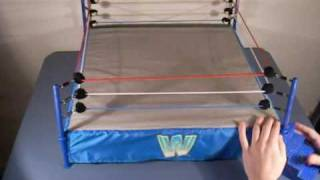 getlinkyoutube.com-WWF OFFICIAL SCALE WRESTLEMANIA VER.1 RING REVIEW WWE