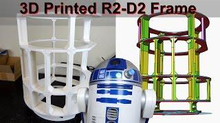 getlinkyoutube.com-XRobots - 3D Printed Star Wars R2-D2 R6 Droid Part 2 - Completing the Frame