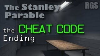 getlinkyoutube.com-The Stanley Parable Walkthrough (2013 Remake) - How to get the Cheat Code / Serious Room Ending [HD]