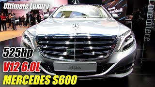 2015 Mercedes-Benz S-Class S600 - Exterior and Interior Walkaround - Debut at 2014 Detroit Auto Show