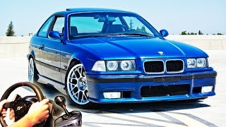 getlinkyoutube.com-illegal Street Drifting & Racing, City Car Driving - BMW M3 e36 (Full HD 2015) v1.4