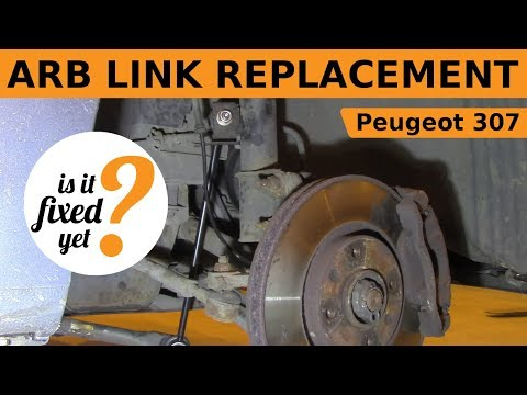 ARB Link Sway Bar Replacement - Peugeot 307