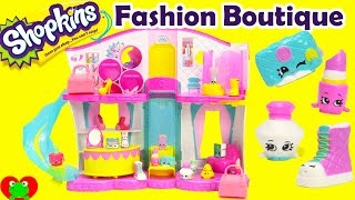 getlinkyoutube.com-Shopkins Season 3 Fashion Boutique Playset with Exclusives