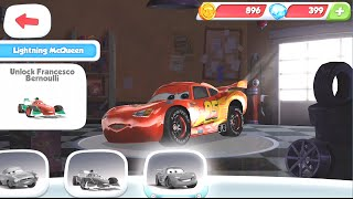 getlinkyoutube.com-Disney Pixar Cars Fast as Lightning McQueen - View Cars