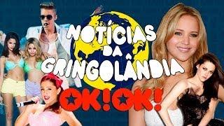 getlinkyoutube.com-Ariana Grande mãe do Bieber, Selena Gomez chorona e a luta entre Crepúsculo e Jogos Vorazes