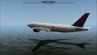getlinkyoutube.com-MAYDAY!MAYDAY! - B777 Ditching - X-Plane 10