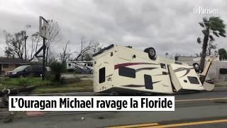 L'ouragan Michael ravage la Floride width=