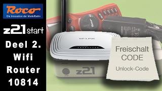 getlinkyoutube.com-Deel 2. Roco 10814 Wifi uitbreiding op de z21start. De installatie (Unlock) instructies.