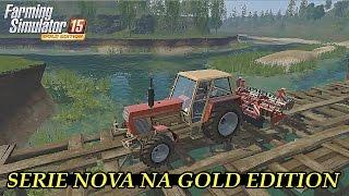 getlinkyoutube.com-Farming Simulator 15 - Iniciando Nova Serie - DLC GOLD EDITION