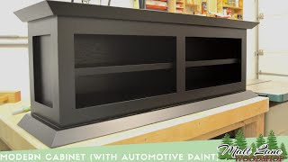 getlinkyoutube.com-Modern Cabinet (With Automotive Spray Finish)
