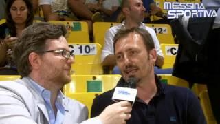 Christian Mayer DS della Fortitudo Agrigento al premio Donia