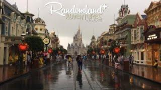 getlinkyoutube.com-Hurricane at Walt Disney World - Magic Kingdom Closed