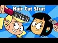 Kid songs - HAIR CUT STRUT - funny cartoon childrens music song by Preschool Popstars