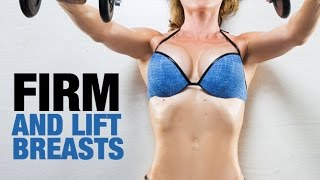 getlinkyoutube.com-5 Best Chest Exercises for Women (FIRM AND LIFT THE BREASTS!!)