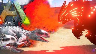 getlinkyoutube.com-Ark Survival Evolved - INDOMINUS REX VS WARDENS (Ark Modded Gameplay)