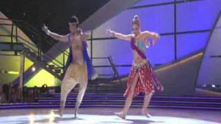 getlinkyoutube.com-Jai Ho (Bollywood) - Caitlin and Jason