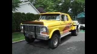 getlinkyoutube.com-1978 ford F-350 dually overview and startup! fully restored