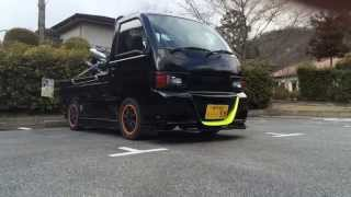 getlinkyoutube.com-車高調 軽トラは仕事に使えるか? 使えます!いや、根性で使う?japanese mini truck