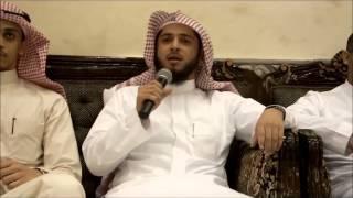 تلاوة حجازية للشيخ عبدالعزيز بن صالح الزهراني في زواج م. تركي بن سعيد العمودي 3 - 1 - 1435هـ