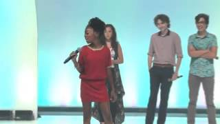 "getlinkyoutube.com-Skai Jackson from Disney's ""Jessie"" at Premiere in Orlando"