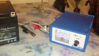 getlinkyoutube.com-Зарядка АКБ для детской машинки