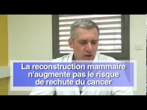 La reconstruction mammaire à l'ICM, Institut du Cancer de Montpellier